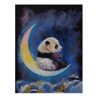 Panda Moon Postcard