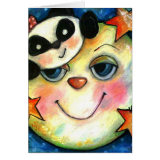 Panda-Moonium Card