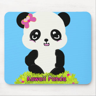 Panda Mousepad de Kawaii Alfombrilla De Ratón