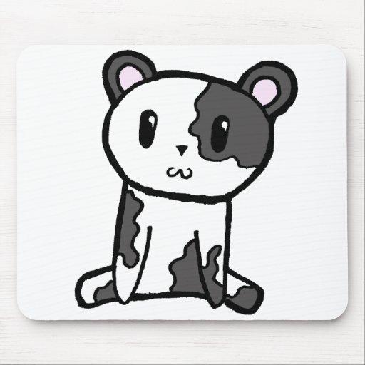 Panda Mousepad Tapetes De Ratones