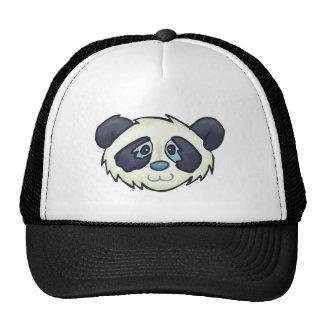 Panda mullida gorra