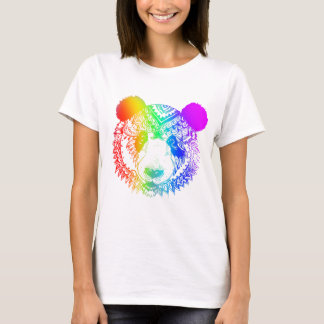 Panda Multicoloured T-Shirt