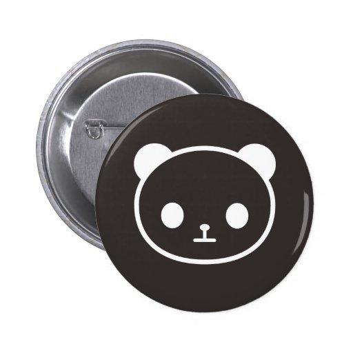 panda negra pin
