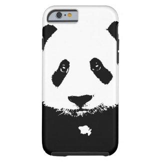 Panda negra y blanca