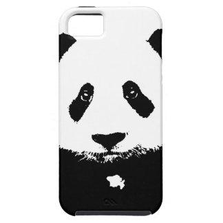 Panda negra y blanca funda para iPhone SE/5/5s