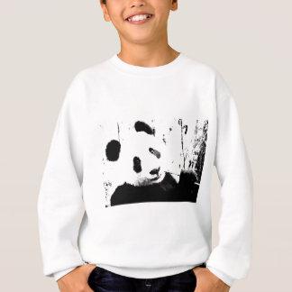 Panda negra y blanca playeras