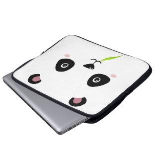 _panda nom laptop sleeve