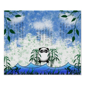 panda ocultada poster