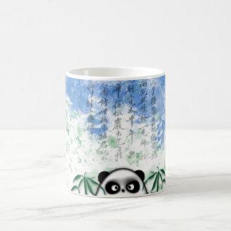 panda ocultada taza