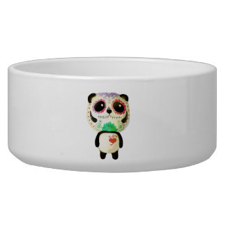 Panda of The Day of The Dead Bowl