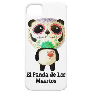 Panda of The Day of The Dead iPhone 5 Cases