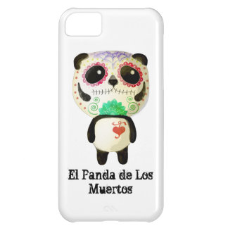 Panda of The Day of The Dead Case For iPhone 5C