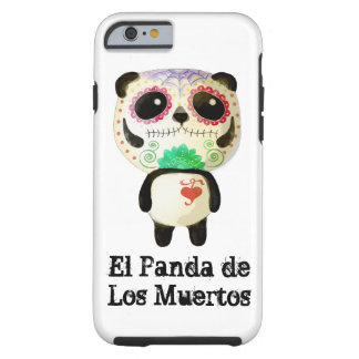 Panda of The Day of The Dead Tough iPhone 6 Case