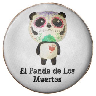 Panda of The Day of The Dead Chocolate Covered Oreo