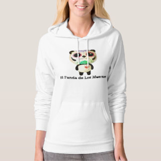 Panda of The Day of The Dead Hoodie