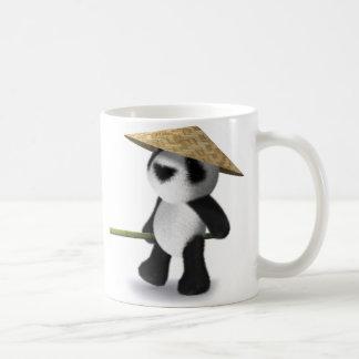 panda Oriental del bebé 3d Taza Clásica
