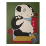 panda original art by zooberhood posters
