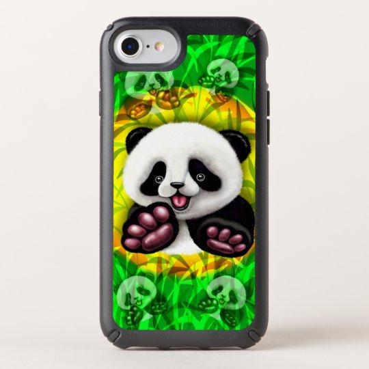 panda, panda bear, baby panda, cute panda, symboli speck iPhone case