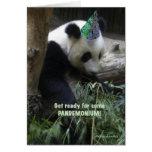Panda pandemonium birthday party invitation! cards