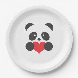Panda paper plates  sc 1 st  Zazzle & Panda Plates | Zazzle