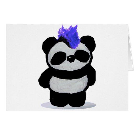 Panda Paperware Tarjeta De Felicitación