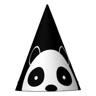 Panda party hats, birthday party decorations party hat