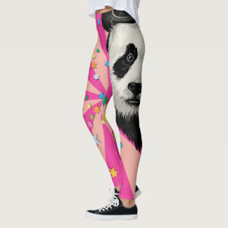 Panda Party Leggings