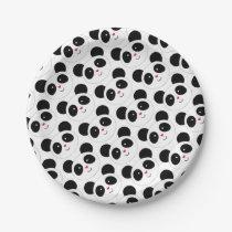 Panda Party Paper Plate