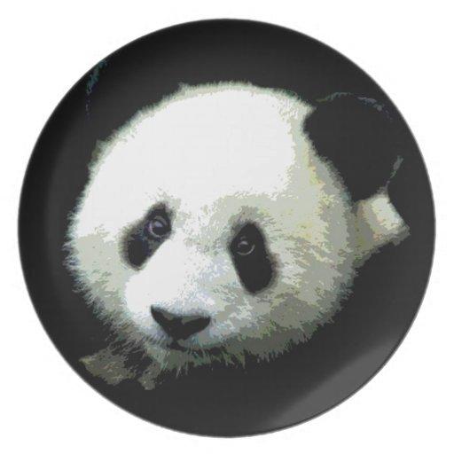 Panda Party Plates