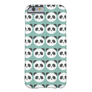Panda pattern barely there iPhone 6 case