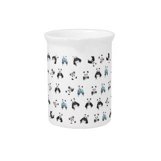 Panda pattern beverage pitcher