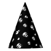 Panda pattern party hat