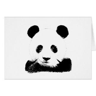 Panda Peeks Out Card