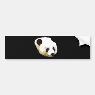 Panda Pegatina Para Auto