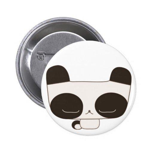 panda pensativa pin