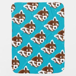 Panda pequeña manta de bebé