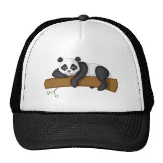 Panda perezosa gorros bordados
