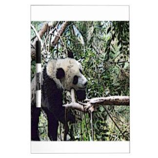 panda perezosa pizarras blancas de calidad