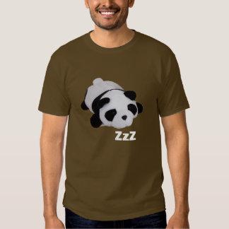 Panda perezosa playeras