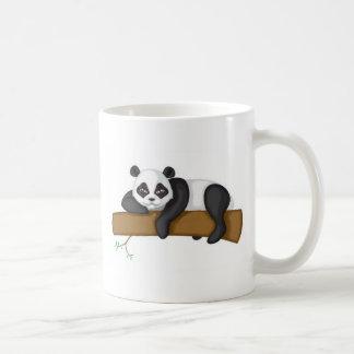 Panda perezosa taza