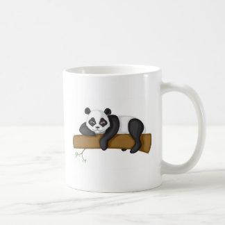 Panda perezosa tazas