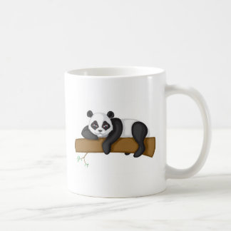 Panda perezosa taza clásica