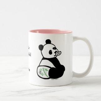 Panda personalizada del bebé tazas