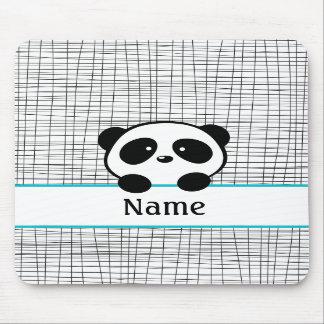 Panda personalizada Mousepad Alfombrilla De Ratones