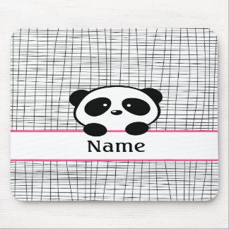 Panda personalizada Mousepad Tapetes De Raton