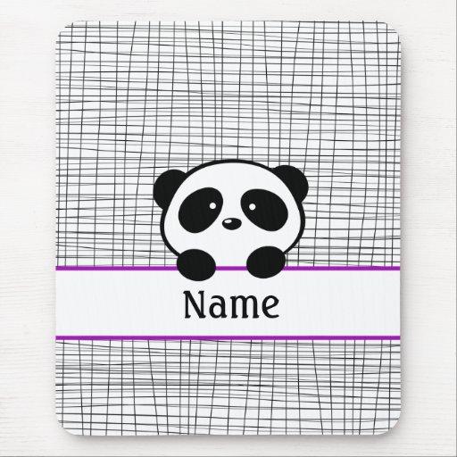 Panda personalizada Mousepad Alfombrillas De Ratones