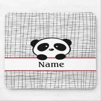 Panda personalizada Mousepad Tapete De Raton