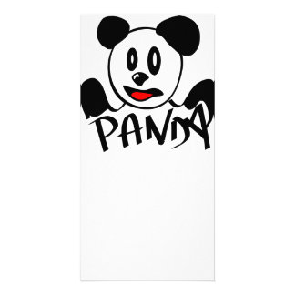 Panda Picture Card