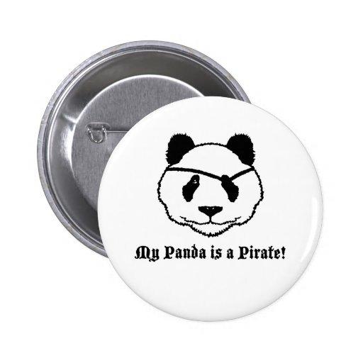 Panda Pirate Button