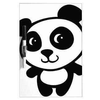 panda pizarra blanca